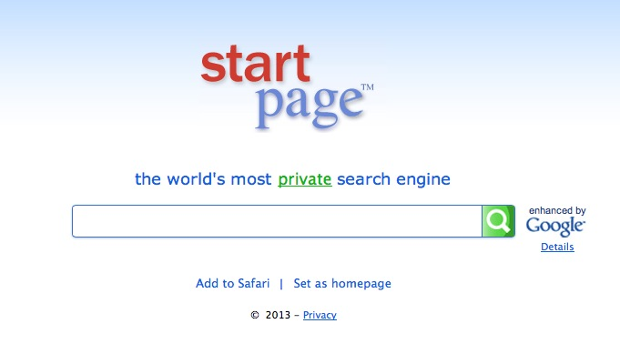 Startpage